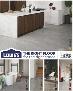 Lowe's deals in the Lowe's catalogue ( 16 days left)