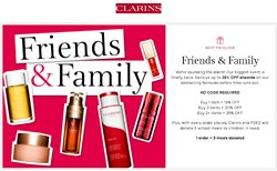 Pharmacy & Beauty offers in the Clarins catalogue ( 16 days left )
