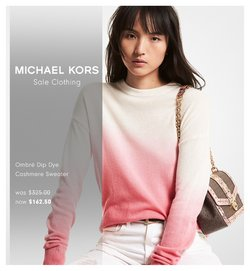 Luxury Brands deals in the Michael Kors catalogue ( 7 days left)
