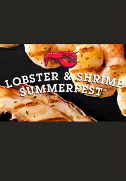 Restaurants offers in the Red Lobster catalogue in Toronto