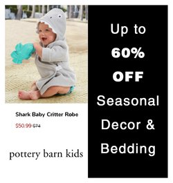 Kids, Toys & Babies deals in the Pottery Barn Kids catalogue ( 3 days left)