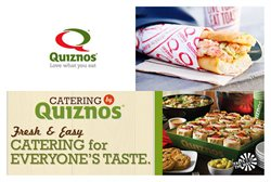 Quiznos deals in the Vancouver flyer