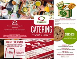 Quiznos catalogue ( 7 days left )