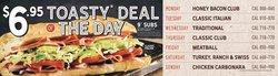 Restaurants deals in the Quiznos catalogue ( 6 days left)