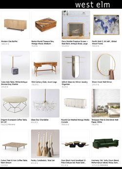 Home & Furniture offers in the West Elm catalogue ( 8 days left )