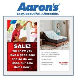 Aaron's deals in the Aaron's catalogue ( 18 days left)