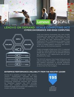 Lenovo catalogue ( More than a month )