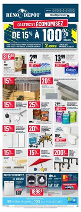 Garden & DIY offers in the Réno Dépôt catalogue in Montreal