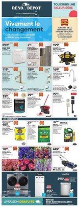 Garden & DIY deals in the Réno Dépôt catalogue ( Expires tomorrow)