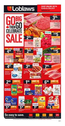 Grocery offers in the Loblaws catalogue in London