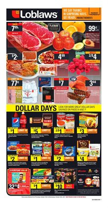 Grocery offers in the Loblaws catalogue in Gatineau