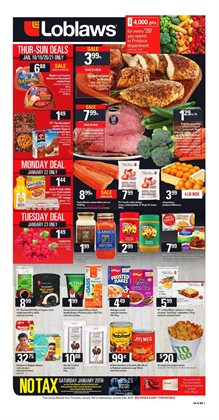 Grocery offers in the Loblaws catalogue in Toronto