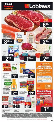 Loblaws deals in the Montreal flyer