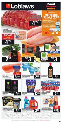 Loblaws catalogue ( 2 days ago )