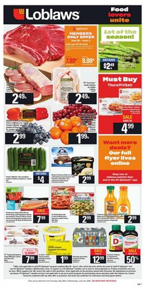 Loblaws catalogue ( 1 day ago )