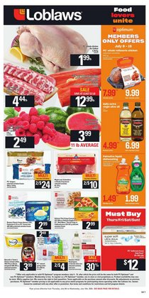 Loblaws catalogue ( 3 days left )