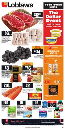 Loblaws catalogue ( 2 days left )