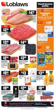 Grocery offers in the Loblaws catalogue in Toronto ( 3 days left )