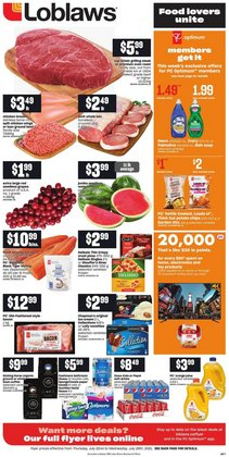 Loblaws catalogue ( Published today)