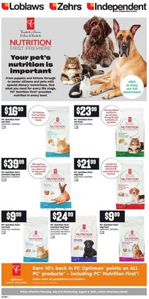Grocery deals in the Loblaws catalogue ( Expires tomorrow)