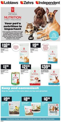 Loblaws deals in the Loblaws catalogue ( Published today)