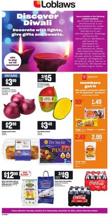 Grocery deals in the Loblaws catalogue ( Published today)