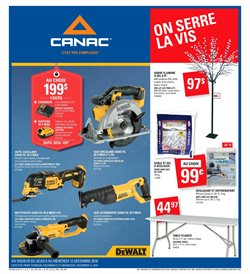 Canac deals in the Montreal flyer
