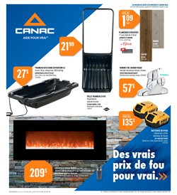 Canac deals in the Quebec flyer