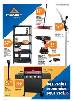 Canac deals in the Canac catalogue ( Expired)