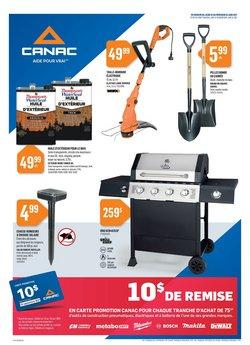 Garden & DIY deals in the Canac catalogue ( Expires today)