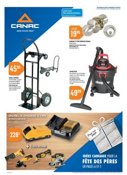 Canac deals in the Canac catalogue ( Expires today)