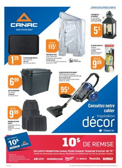 Garden & DIY deals in the Canac catalogue ( 2 days left)