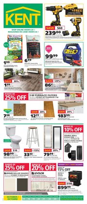 Kent deals in the Moncton flyer