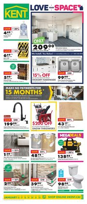 Kent deals in the Fredericton flyer