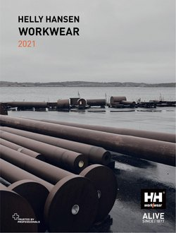 Helly Hansen catalogue ( More than a month)
