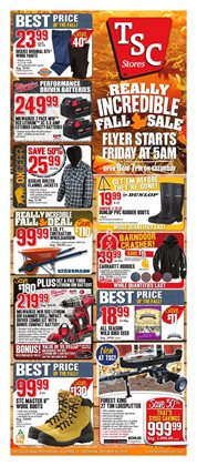 TSC Stores deals in the Chatham-Kent flyer