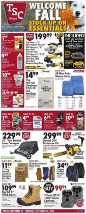 TSC Stores catalogue ( Expires today )