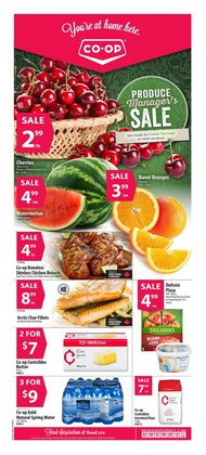 Grocery deals in the co-op west catalogue ( Published today)