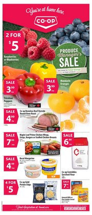 Grocery deals in the co-op west catalogue ( Expires tomorrow)