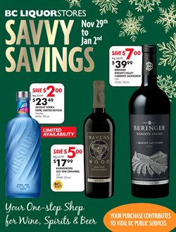 BC Liquor Stores catalogue ( 28 days left )