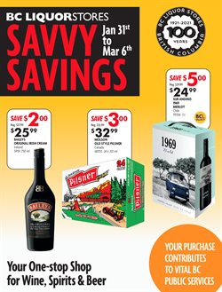 BC Liquor Stores catalogue ( Expired )
