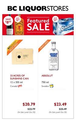 BC Liquor Stores catalogue ( 11 days left)