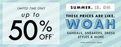 Designer Shoe Warehouse coupon in Edmonton ( 20 days left )