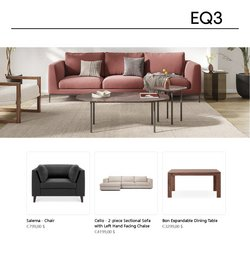EQ3 deals in the EQ3 catalogue ( 8 days left)
