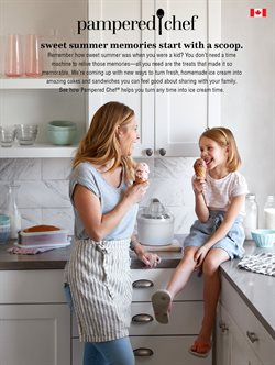 Pampered Chef deals in the Charlottetown (Prince Edward Island) flyer