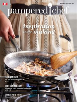 Pampered Chef deals in the Toronto flyer
