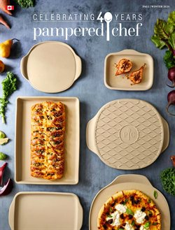 Sales deals in the Pampered Chef catalogue ( More than a month)