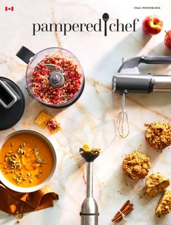 Pampered Chef catalogue ( More than a month)