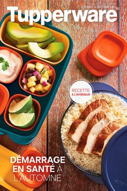 Tupperware deals in the Joliette flyer