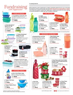 Sales deals in the Tupperware catalogue ( More than a month)